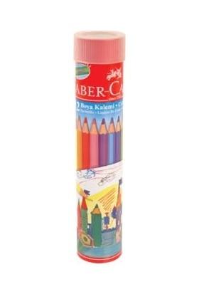 Faber-Castell 12 Renk Kuru Boya 12 Li Stant 116512