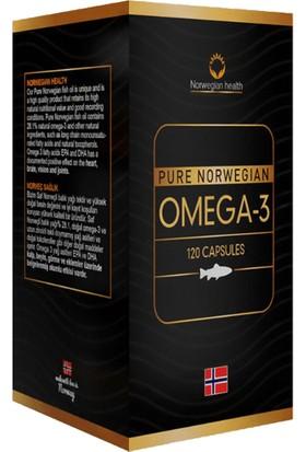 Norwegian Health Omega 3 120 Kapsül
