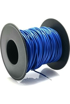 Electroon 0.22MM 20MT Çok Damarlı Mavi Montaj Kablosu