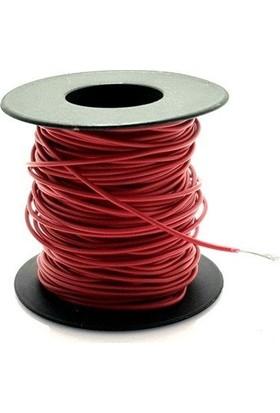 Electroon 0.22MM 20MT Çok Damarlı Kırmızı Montaj Kablosu