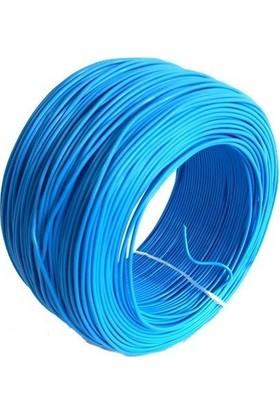 Electroon 0,22MM Çok Damarlı Montaj Kablosu 100MT Mavi