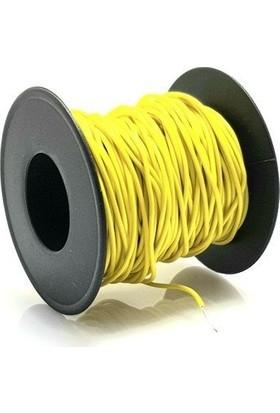 Electroon 0.22MM 20MT Çok Damarlı Sarı Montaj Kablosu