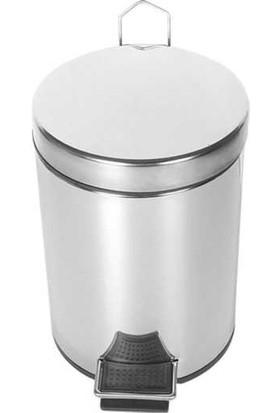 Palex 3700-312 Metal Pedallı Çöp Kovası 12 Litre