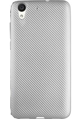 Antdesign Huawei Honor Y6 Karbon Carbon Soft Kılıf Gri