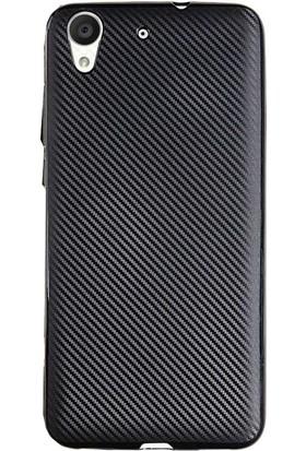 Antdesign Huawei Honor Y6 Karbon Carbon Soft Kılıf Siyah