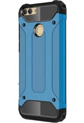 Antdesign Huawei P Smart Crash Serisi Dayanıklı Kılıf Mavi