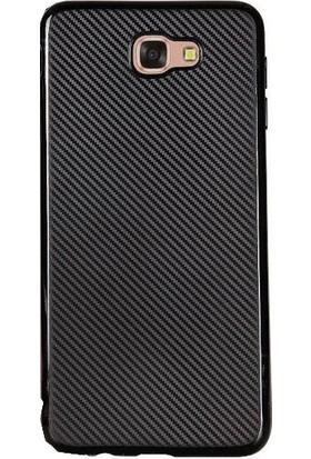 Antdesign Samsung Galaxy J5 Prime Karbon Carbon Soft Kılıf Siyah