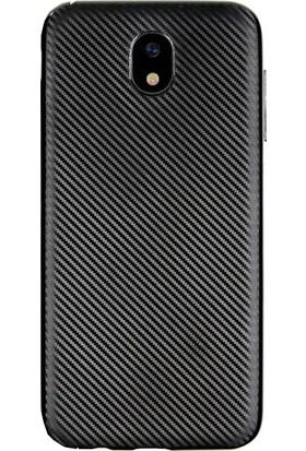 Antdesign Samsung Galaxy J530 J5 Pro Karbon Carbon Soft Kılıf Siyah