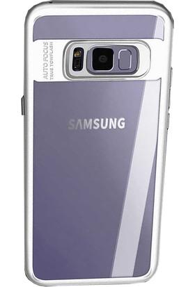 Antdesign Samsung Galaxy S8 Buttom Serisi Kılıf Beyaz