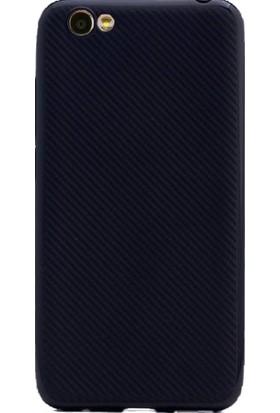 Antdesign Vestel E3 Karbon Carbon Soft Kılıf Siyah