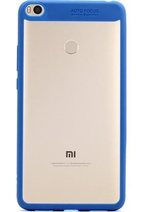 Antdesign Xiaomi Mi Max 2 Buttom Serisi Kılıf Mavi
