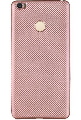 Antdesign Xiaomi Mi Max Karbon Carbon Soft Kılıf Rose Gold