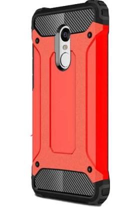 Antdesign Xiaomi Redmi 5 Crash Serisi Dayanıklı Kılıf Kırmızı