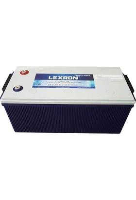 Lexron 12V 200Ah Solar Güneş Enerji Jel Akü