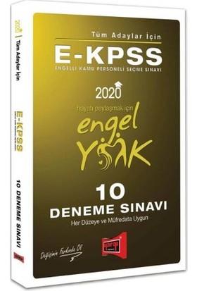 Yargı Yayınevi 2020 E-KPSS Tüm Adaylar İçin 10 Deneme Sınavı