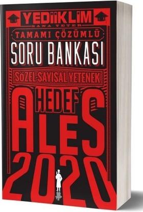 Yediiklim Yayınları 2020 ALES Sözel Sayısal Yetenek Çözümlü Soru Bankası