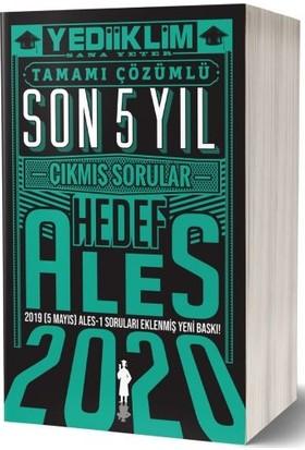 Yediiklim Yayınları 2020 ALES Çözümlü Son 5 Yıl Çıkmış Sorular