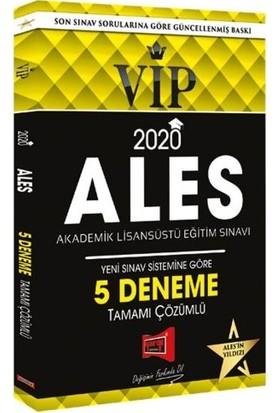 Yargı Yayınevi 2020 ALES VIP Yeni Sınav Sistemine Göre Çözümlü 5 Deneme