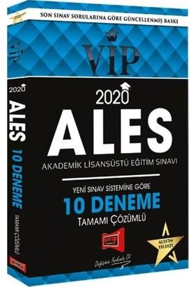 Yargı Yayınevi 2020 ALES VIP Sınav Sistemine Göre Çözümlü 10 Fasikül Deneme