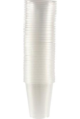 Şeffaf Plastik Pet Bardak 180 cc 100 Adet