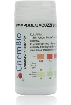 Chembio Havuz Ph Sertlik Klor Alkalinite Test Kiti 50Ad.