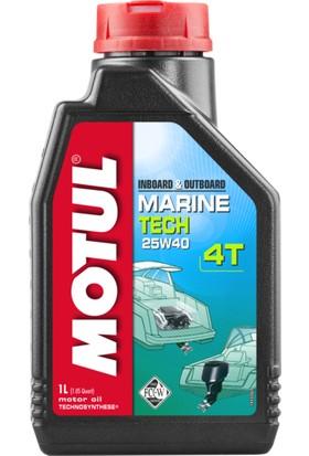 Motul Tech 4T 25W40 1 Litre Motor Yağı
