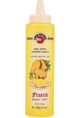 Fo Ananas Frozen Meyve Püresi 1 kg