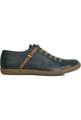 Kalahari 850660 418 Erkek Lacivert Deri Loafer