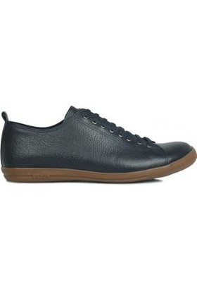 Kalahari 850661 418 Erkek Lacivert Deri Ayakkabı