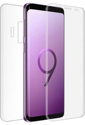 Casestore Samsung Galaxy S9 Ön Arka Ekran Koruyucu Full Body Jelatin Şeffaf