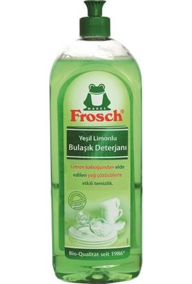 Frosch Yeşil Limonlu Bulaşık Deterjanı 750 ml 3'lü Set