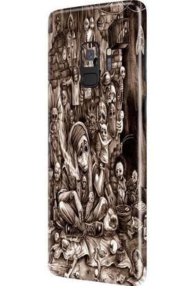 3M Samsung Galaxy S9 Esrarengiz Telefon Kaplama
