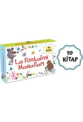 La Fontaine Masalları 10 Kitap Set