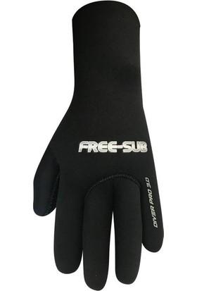 Free-Sub Diver Pro 3mm Dalış Eldiveni