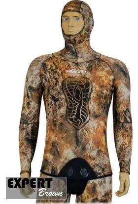 Free-Sub Expert Brown Comfort 3mm Serbest Dalış Elbisesi
