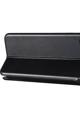 Prolysus Huawei Honor 9 Lite Kılıf Kapaklı Cüzdan Flip Cover Wallet Kılıf Altın
