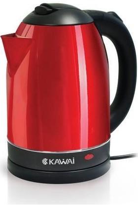 Kawai Gardenya Kırmızı Çelik Kettle Su Isıtıcı