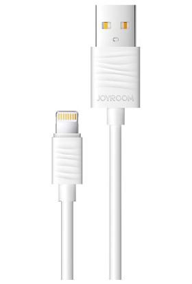 Joyroom JR-S118 Lightning Şarj ve Data Kablosu Beyaz