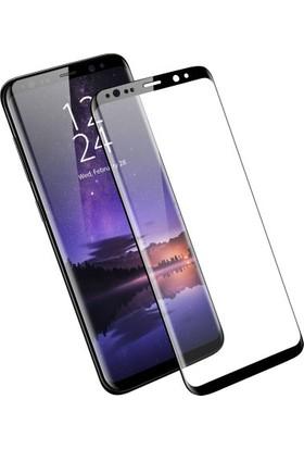 Joyroom JM3021 Samsung Galaxy S9 Siyah 3D Eğimli Full Temperli Cam Ekran Koruyucu Siyah