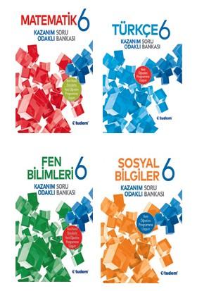 Tudem Yayınları 6.sınıf Tüm Branşlar Soru Bankası Set (4 Kitap)