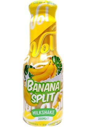 Vol Banana Split Milkshake 250 ml 6'lı