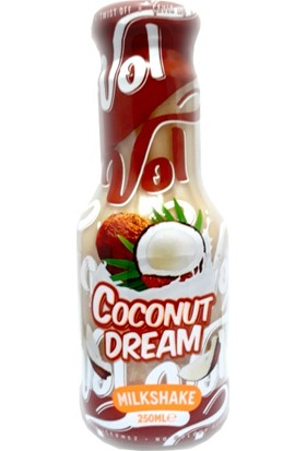Vol Coconut Dream Milkshake 250 ml 6' lı