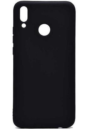 CoverZone Motorola One Vision Kılıf Premier Silikon Kılıf Siyah + Temperli Ekran Koruma
