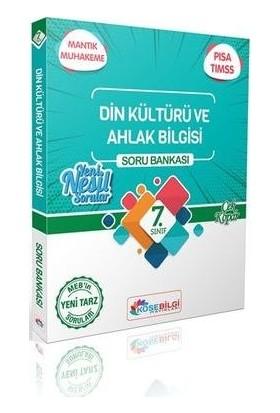 Köşebilgi Yayınları 7. Sınıf Özet Bilgili Din Kültürü ve Ahlak Bilgisi Soru Bankası