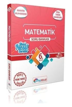 Köşebilgi Yayınları 6. Sınıf Özet Bilgili Matematik Soru Bankası