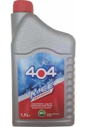 404 Kırmızı Antifiriz 1,5 Litre -46 Derece
