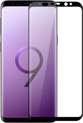 Engo Samsung Galaxy S9 Plus Ekran Koruyucu 6D Campet Flexible Yeni Nesil Tam Kaplama 9h Temperli Film