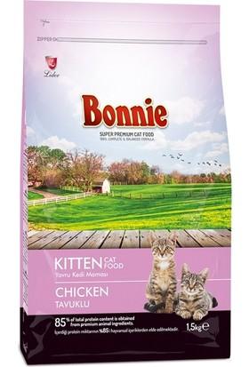 Bonnie Tavuklu Yavru Kedi Maması 1,5 kg