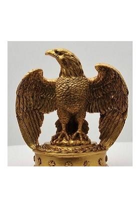 Esteryum Kartal Kitap Tutucu - Gold