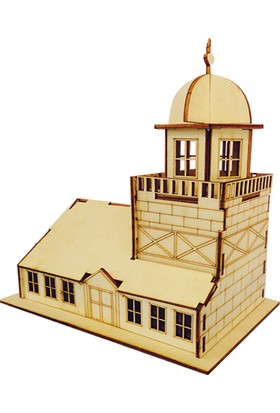 Kumtoys Büyük Ahşap Maket Kız Kulesi Mk17